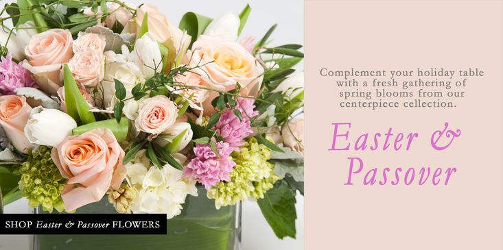 Easter Passover flowers centerpieces arrangements for delivery in Philadelphia, New Jersey, NJ