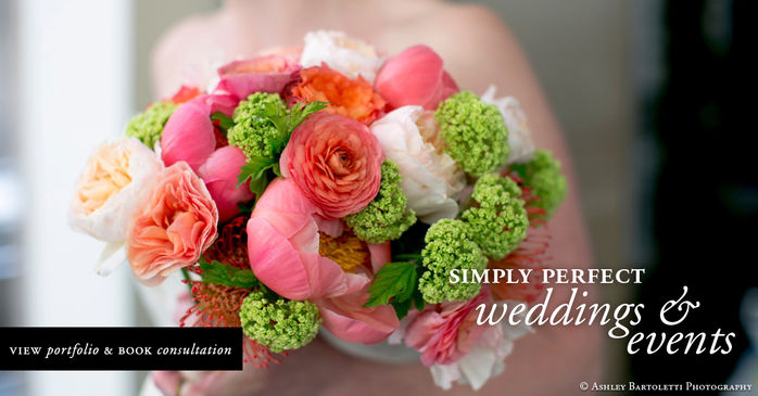 Wedding flowers Philadelphia florist - Special events and corporate decor, Bat / Bar Mitzvah decor and event planning.