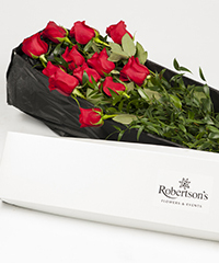 Photography of Boxed Roses